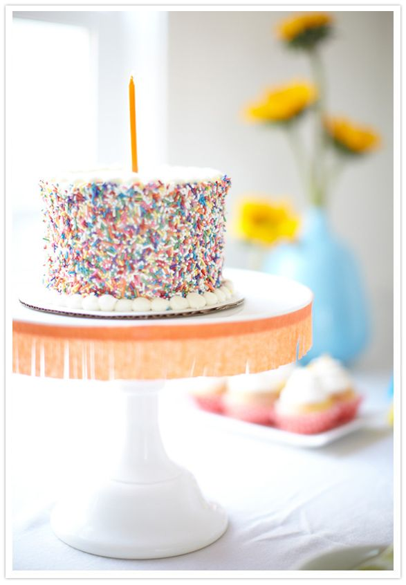 adorable fiesta themed first birthday party for the son of Jillian of 100 Layer Cake party blog, cake by created by Hotcakes Bakes & photographed by Scott Clark Photography: Fun Recipes, Bday, Savory Recipes, Kid Wouldn T, Sprinkles Cake, Birthday Cake, B Day Cakes, Sprinkle Cakes, Birthday Party