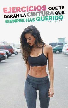 Ejercicios para tener esa cintura que tanto deseas #ejerciciosparacintura