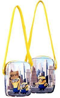 Nové - Žlutá taška přes rameno s Mimoni