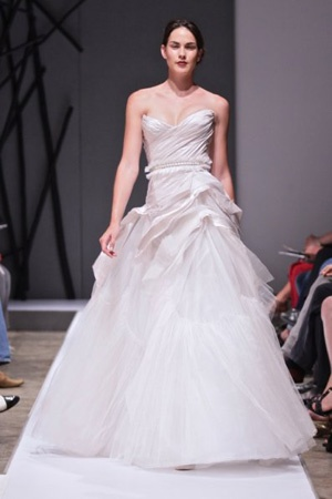 Vesselina Pentcheva wedding dress SA Fashion week