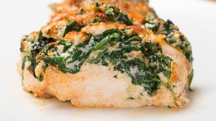 Hasselback Chicken Recipe. Cook the spinach on a medium heat in a splash of oil for 3-5 minutes until it is slightly wilted. Stir in the ricotta and cook