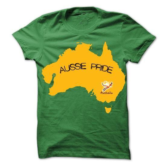 AUSSIE PRIDE T Shirts, Hoodie. Shopping Online Now ==► https://www.sunfrog.com/States/AUSSIE-PRIDE-SHIRT.html?41382