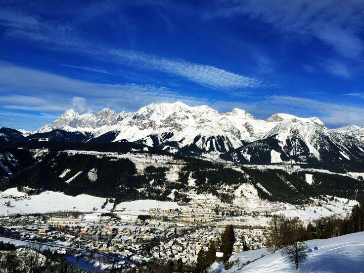 Dachstein mountain.