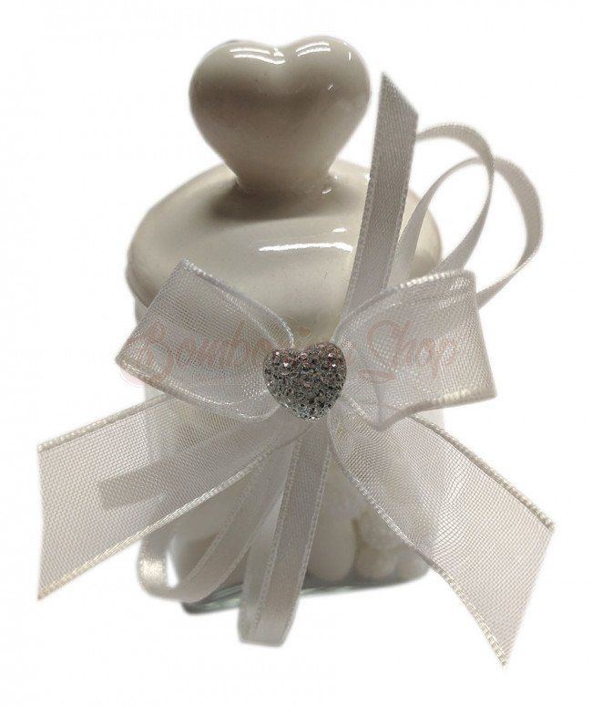 Bomboniere Anniversario Matrimonio 60 Anni.Bomboniera Anniversario Matrimonio Barattolino 60 Anni 2019