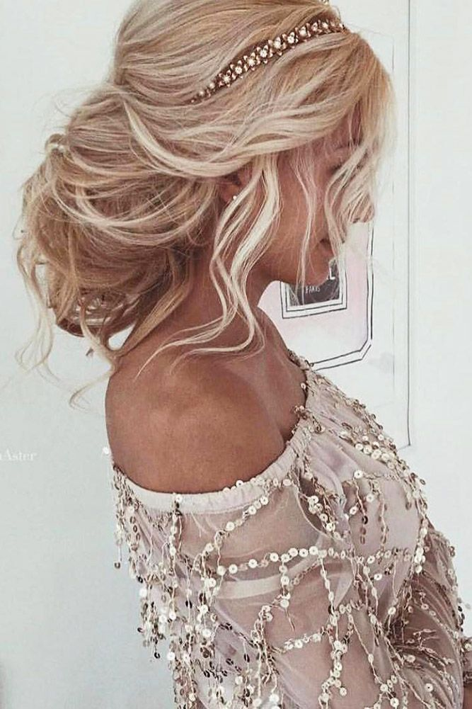 30 Wedding Hairstyles For Long Hair From Ulyana Aster ❤️ wedding hairstyle from ulyana aster messy blond hair ulyana aster ❤️ See more: http://www.weddingforward.com/wedding-hairstyle-from-ulyana-aster/ #wedding #bride #weddinghairstyles