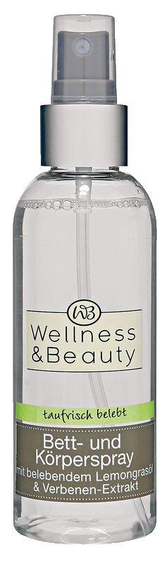 Fühlen Sie sich taufrisch belebt - mit Lemongrasöl und Verbenen-Extrakt, vereint zu einer einzigartigen Rezeptur. Das Bett-und Körperspray umhüllt Sie mit einem vitalen Duft und wirkt erfrischend und belebend. Hautberuhigendes Panthenol und ein spezieller Feuchtigkeitskomplex pflegen und versorgen die Haut mit Feuchtigkeit.