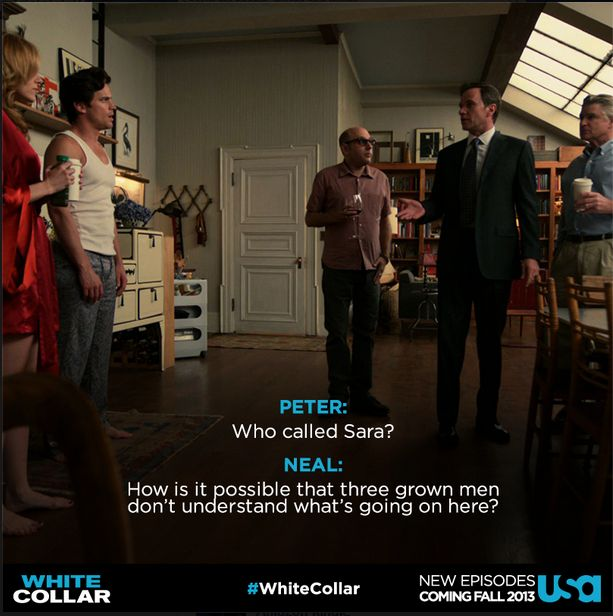 White collar is too funny