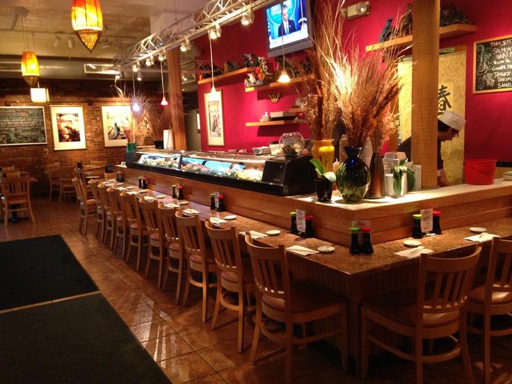 Sushi Bar in Monster Sushi, Summit, NJ