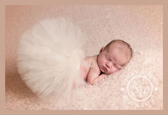 Girls Newborn Tutu - Adorable Tutu, newborn photography, newborn props - baby photography - baby clothes - UK SELLER - free postage