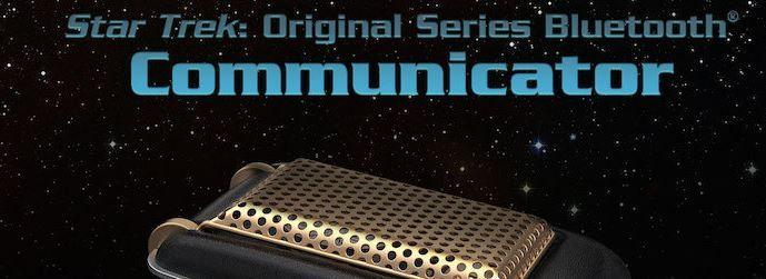 """""""Beam me Up, Scotty!"""" Original Trekki-Communicator fürs iPhone - https://apfeleimer.de/2015/07/beam-me-up-scotty-original-trekki-communicator-fuers-iphone - Star Trek Fans dürfen Freudensprünge machen: Auf der diesjährigen Comic Con stellte The Wand Company eine Bluetooth-Freisprecheinrichtung im Star Trek Communicator Stil vor. Gerade für Fans der Original-Serie geht so ein großer Wunsch in Erfüllung. Bluetooth-Freisprecheinrichtung mit Origi..."""