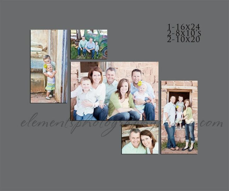 Love this layout, and love the canvas. Definitely doing this with our portraits!