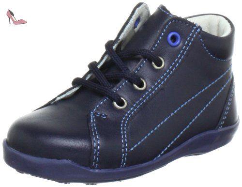Richter Kinderschuhe Sissi S, Chaussures Marche Bébé Fille, Bleu (Atlantic/Silver), 22 EU