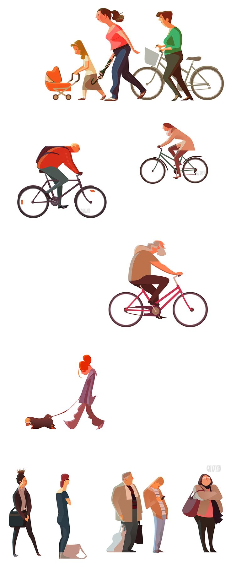Commuters 2 by Sukanto Debnath - Amazing clean style!