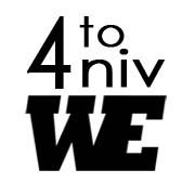 Logo 4to Aniv. WE