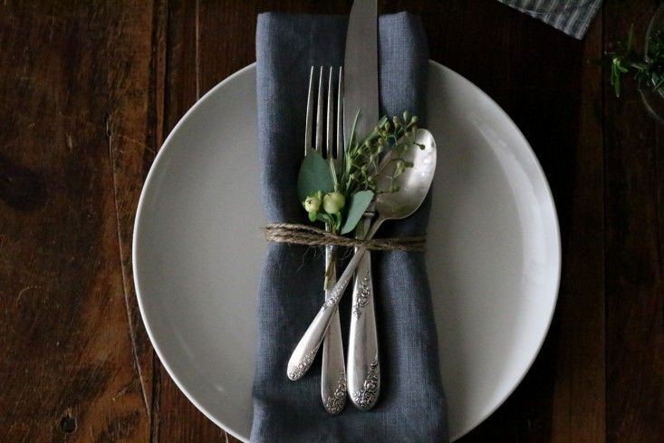 One of the easiest ways to set an enticing table is to get creative with napkins. Here are some favorite ideas. No starch required.
