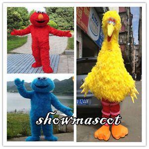 Big-Bird-Elmo-Cookie-Sesame-Street-Mascot-Costume-Fancy-Dress-Adult-Size  Big-Bird-Elmo-Cookie-Sesame-Street-Mascot-Costume-Fancy-Dress-Adult-Size  Big-Bird-Elmo-Cookie-Sesame-Street-Mascot-Costume-Fancy-Dress-Adult-Size  Big-Bird-Elmo-Cookie-Sesame-Street-Mascot-Costume-Fancy-Dress-Adult-Size Have one to sell? Sell now Big Bird Elmo Cookie Sesame Street Mascot Costume Fancy Dress Adult Size