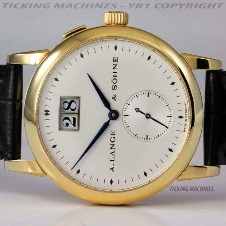 A. Lange & Sohne Saxonia Big Date 18K Gold Ref. 102.002