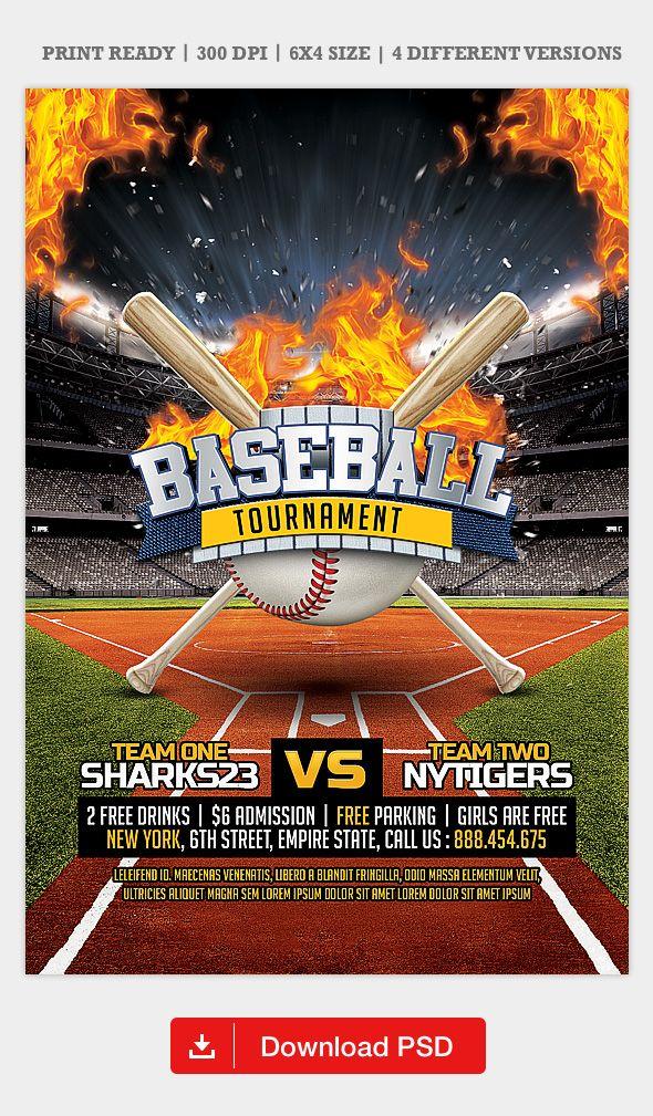 Baseball League Flyer Template Baseball League Flyer Template Flyer