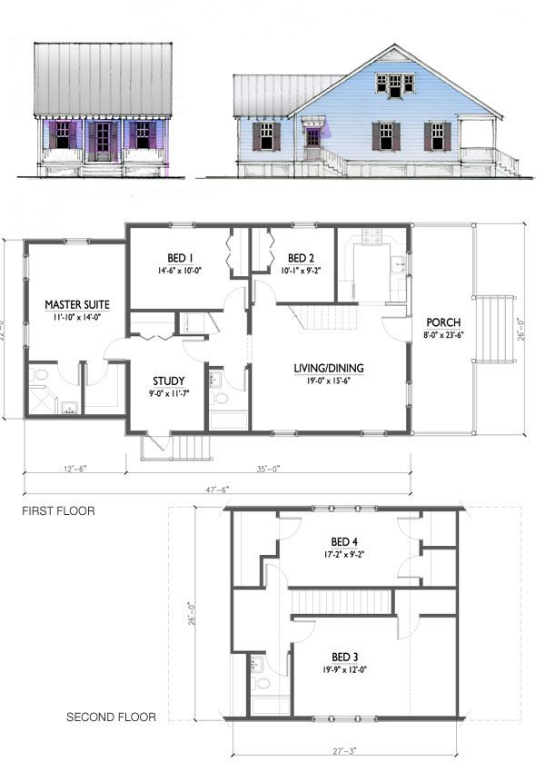 Katrina Cottage House Floor Plans Trend Home Design And
