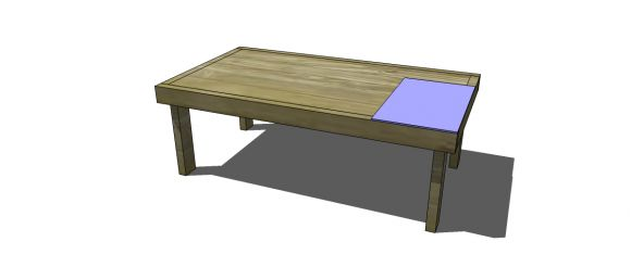Free DIY Furniture Plans to Build a Laptop Table - www.thedesignconfidential.com