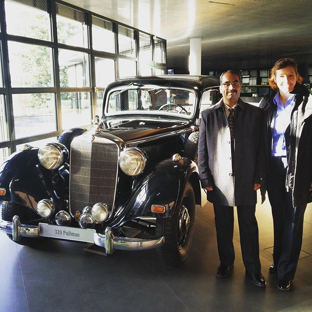 Our colleagues with a original Mercedes 320 Pullman. That is what we call classy. #Mercedes #innovationthursday #car #cars #instacars #instaauto #auto #exoticcars #oldtimer #fastcar#motor #autotrend #cargramm #carsovereverything #carsofinstagram #power #speed #classic #fast #amazing #luxury #dreamcar #sportcars #engineer #engineering #engineeringstudent #pullman #ingenieur #university #likes4followers