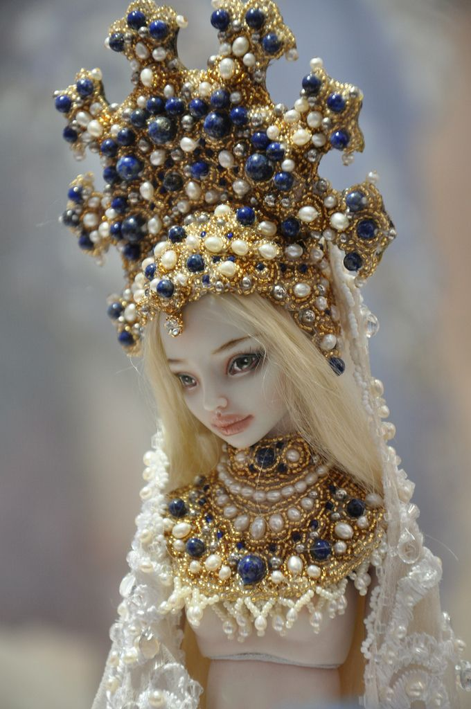 https://flic.kr/p/a2LCSy | 273 | Enchanted Dolls by Marina Bychkova. Exhibition DOLL TIME № 7 in St. Petersburg.