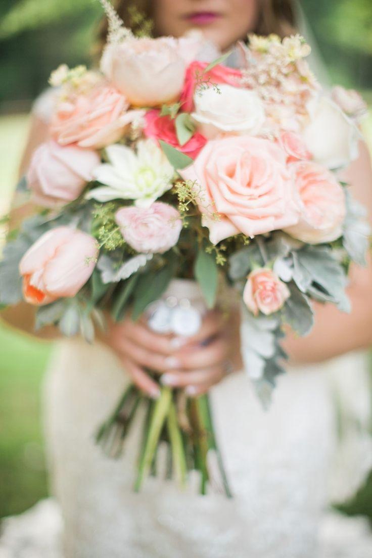 Romantic Pink & Blush Bridal Bouquet