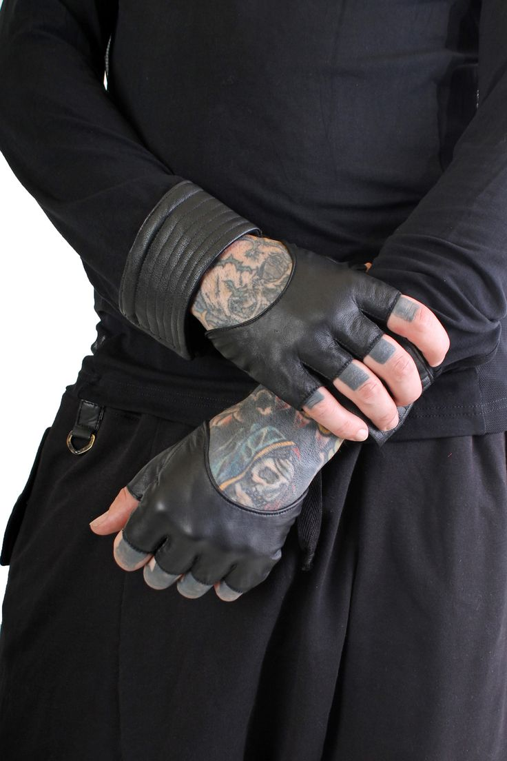 Five and Diamond Steam Trunk Half Gloves