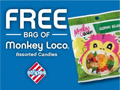Free Gummi Bears at Stripes Stores - http://couponsdowork.com/freebies-giveaways/stripes-free-gummi-bears/