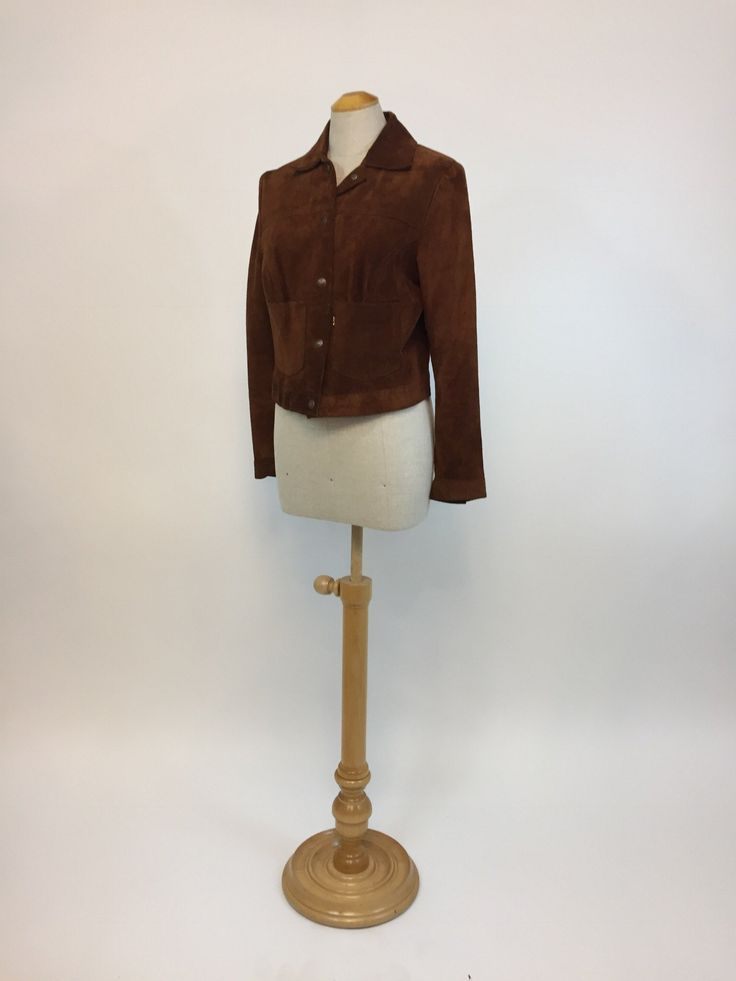 1970s LEVI's suede jacket, S