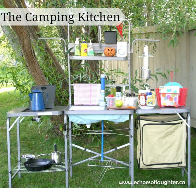 458 best Camp kitchen images on Pinterest | Baking center, Camping Campers Kitchen Ideas Outside on motor coach outdoor kitchen, camper leveling jacks, trailer kitchen, rv kitchen, small camper kitchen,