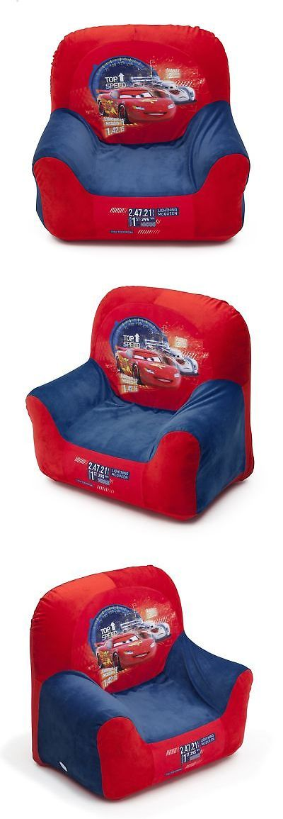 Kids Furniture: Disney Car Club Chair For Kids Toddler Furniture Baby Comfortable Seat Chairs -> BUY IT NOW ONLY: $14.94 on eBay!