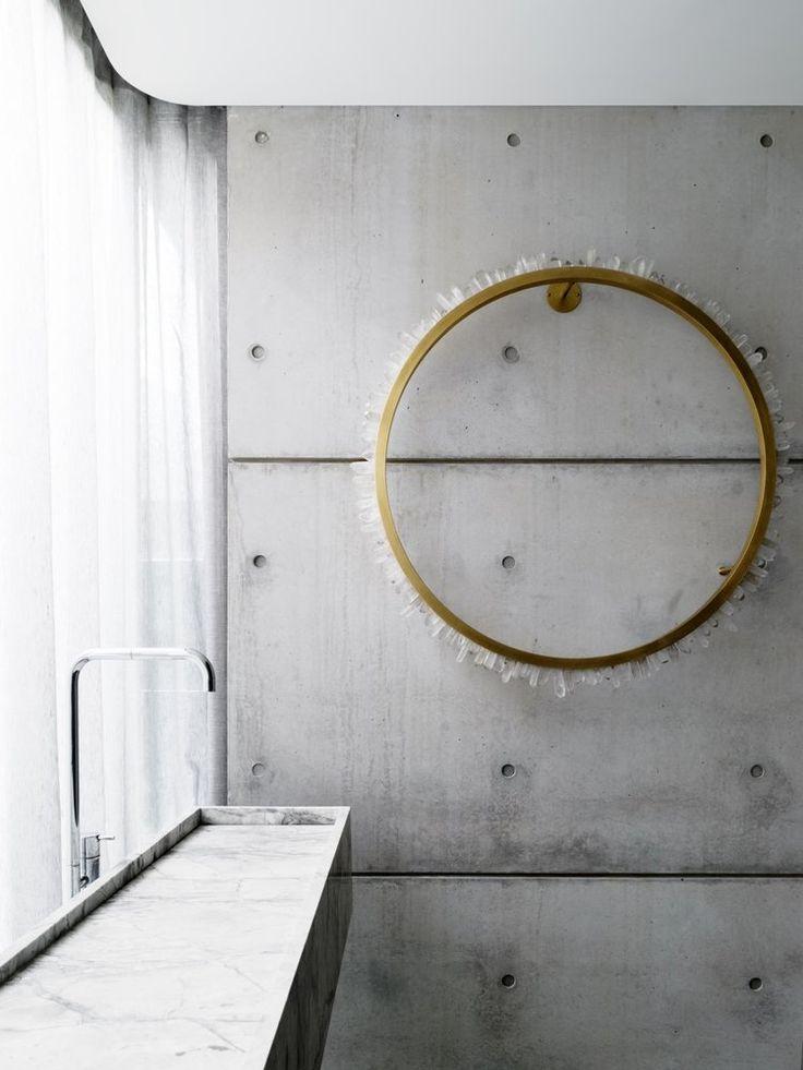 Alexandra Kidd Design Mosman House Project Powder Room