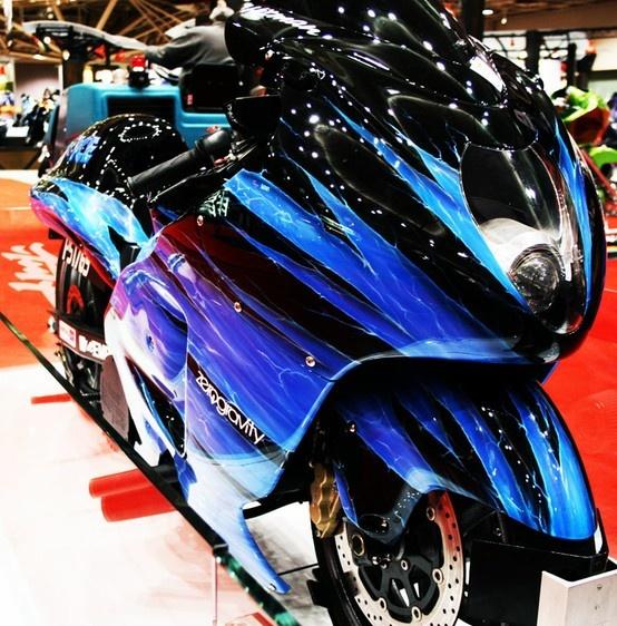 Sick Suzuki Hayabusa from the Zero Gravity Empire crew.
