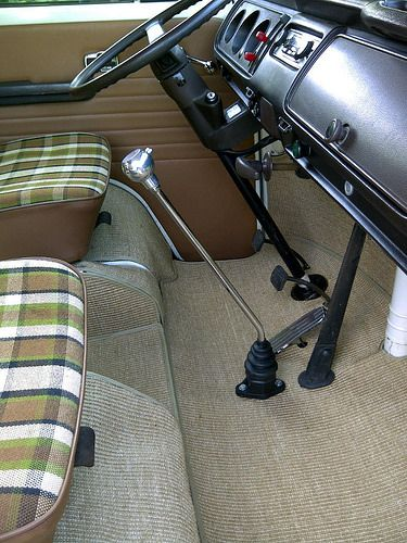 cab mats and new shifter | Gene Berg, Madmatz. | Rob E | Flickr
