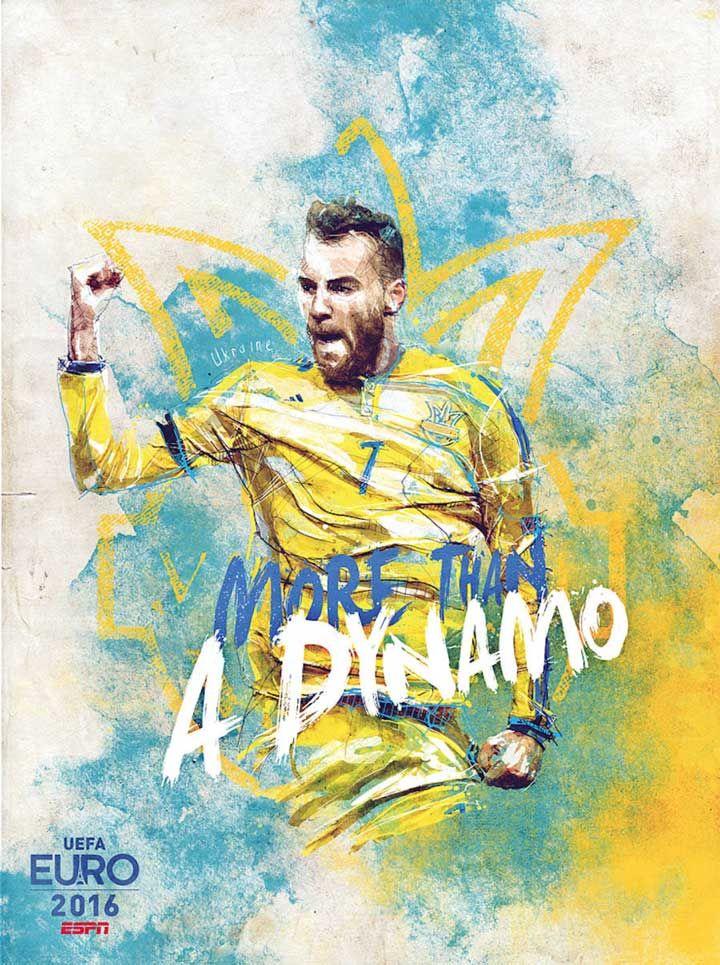 Больше чем футбол: крутые футбольные постеры ЕВРО 2016, которые ты с гордостью повесишь на стену.