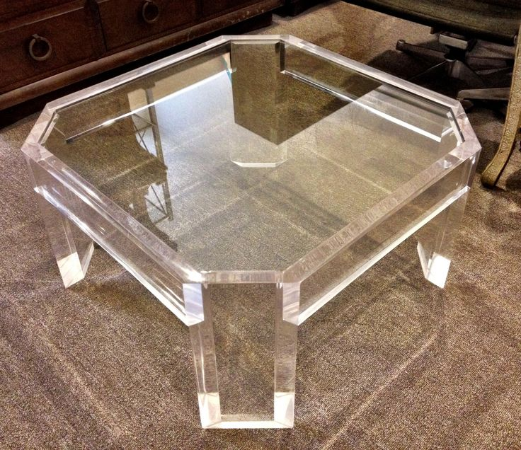 Best 25+ Lucite Coffee Tables Ideas On Pinterest