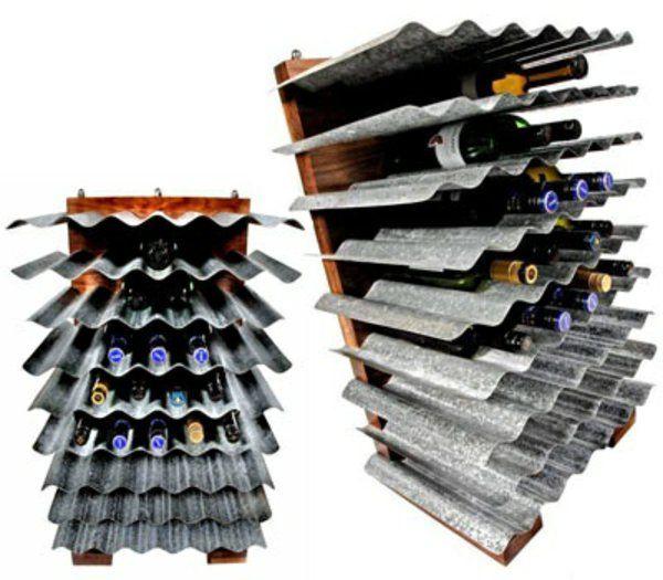 die besten 25 weinregal metall ideen auf pinterest metall weinregale metallscheunen und. Black Bedroom Furniture Sets. Home Design Ideas