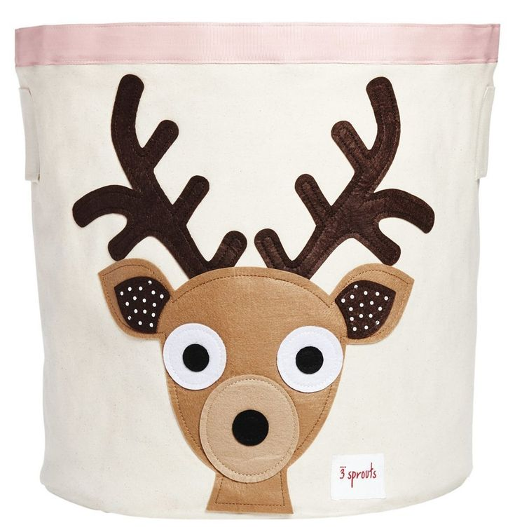 3 Sprouts Storage Bin, Brown Deer
