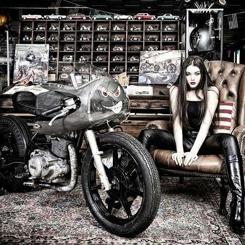 "Yamaha  sr  special  ""The Maniac """