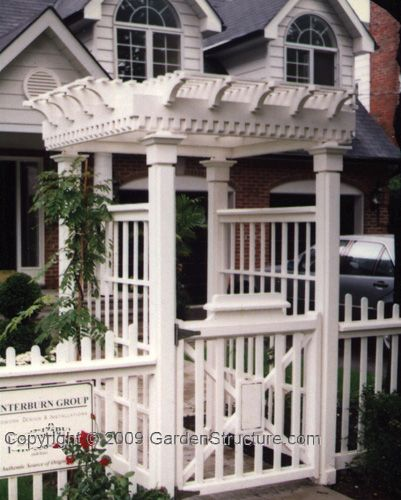 Arbor Over Gate Ideas: 16 Best Arbor Designs Images On Pinterest