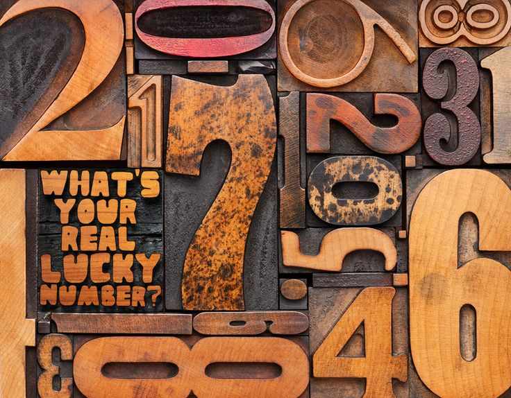 How do you find your lucky numbers based on your birth date?