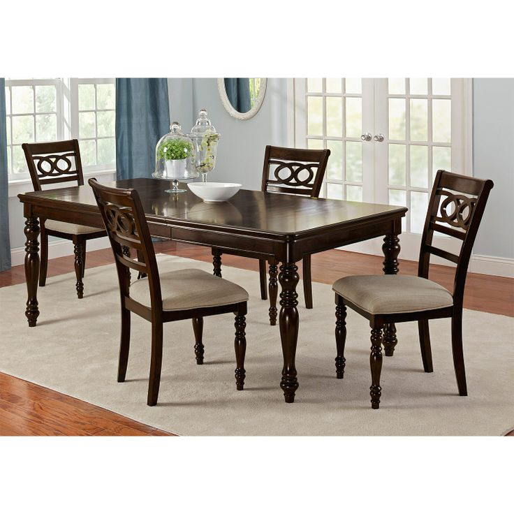 hayden ridge dining room 5 pc dinette value city furniture value city. Interior Design Ideas. Home Design Ideas