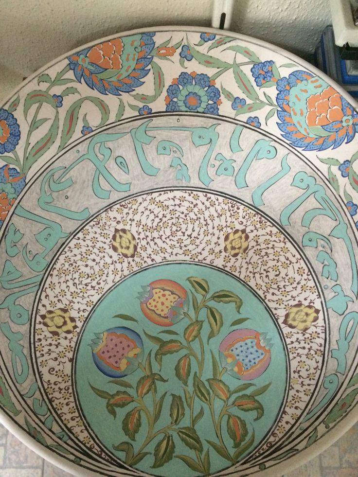 By İsmail yiğit mat sır 40 cm tabak