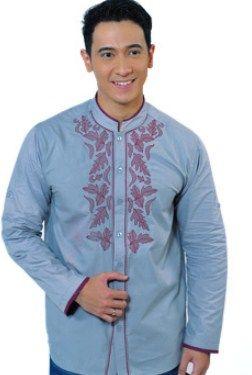 Contoh Gambar Model Baju Muslim Pria Terbaru 2015 16 Baju Koko Simpel Dan Oke Baju Muslim Muslim Pakaian