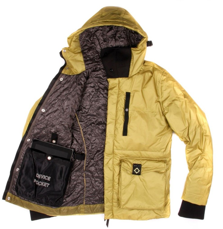 The MA1107-07 Light-Weight  compact fill hip Length Jacket from Ma.strum