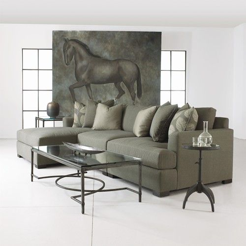Adriana Sectional Sofa with Chaise Lounger by Bernhardt - Baeru0027s Furniture - Sofa Sectional Miami : orlando sectional sofa - Sectionals, Sofas & Couches