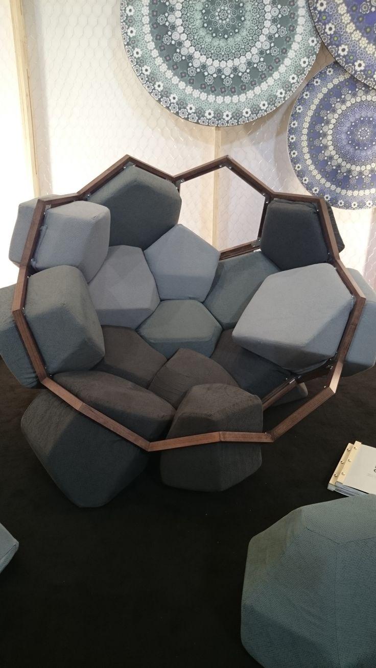 rock sofa design at Salone del mobile 2014 #milndesignweek