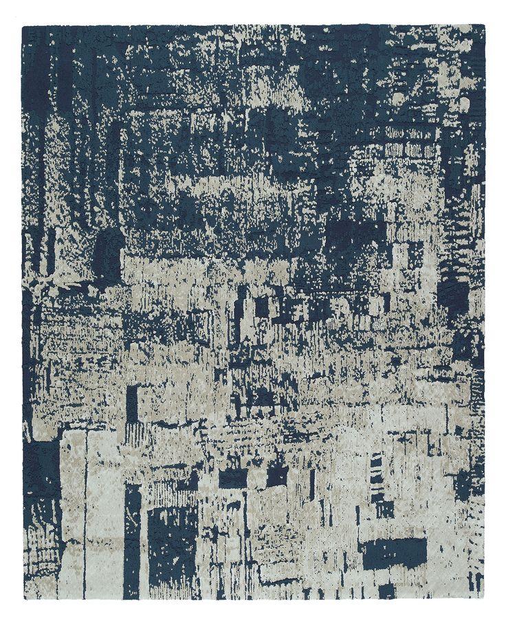 Nightime Streetscape I, Scenematic Collection by André Fu #AndreFu #AndreFuLiving #AFL #Architect #Lifestyle #Texture #City #Modern #Interior #Blue #Graphic #UrbanNightfall #Luxury #Rug #Carpet #Tapis #Design #InteriorDesign #Deco #Art #Bespoke #Custom #Unique #HandTuft #HandMade #Artisans #RugsCreatedByUs #TaiPing #HouseOfTaiPing