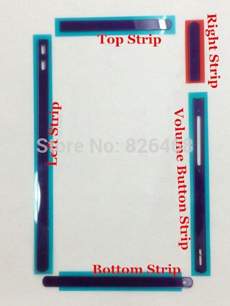 Оригинал Боковая Кнопка Полосы + Кнопка Питания Ленты + Клавиша регулировки громкости Ленты для Sony Xperia Z C6603 L36H LT36H Черный Фиолетовый Серебро 5 видов